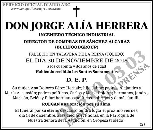 Jorge Alía Herrera